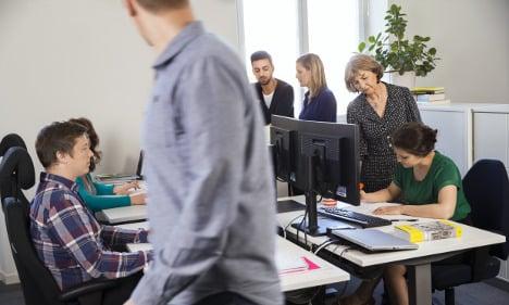 Stress causing hike in Swedish sick leave