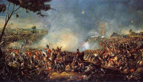 How 400 Germans won the Battle of Waterloo