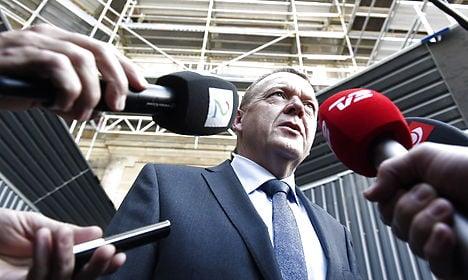 Denmark's Rasmussen to form minority govt