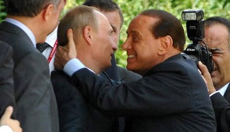 Berlusconi and Putin: an enduring love