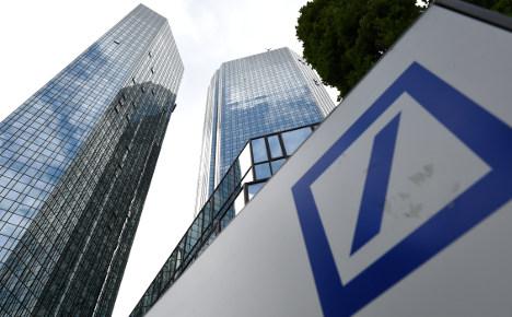 Deutsche Bank raids 'related to tax evasion'