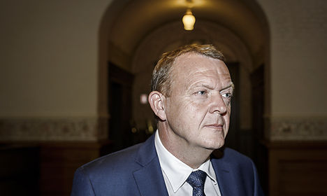 Rasmussen's 'difficult' coalition talks continue