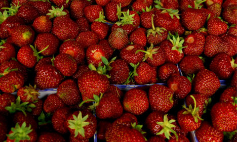 Massive strawberry heist ahead of Midsummer