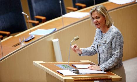 Sweden's spring budget survives crucial vote