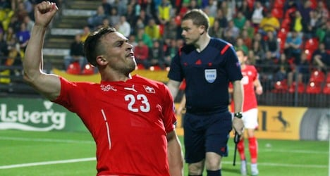 Swiss boost Euro hopes with Lithuania win