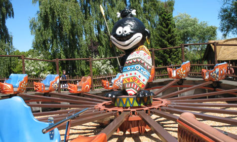 Danish theme park rejects racism charge