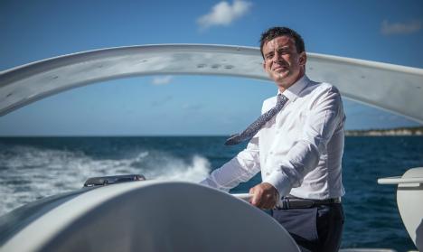 French PM admits footy trip 'blunder'