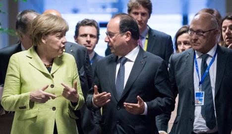 Merkel greets 'progress' in Greece talks