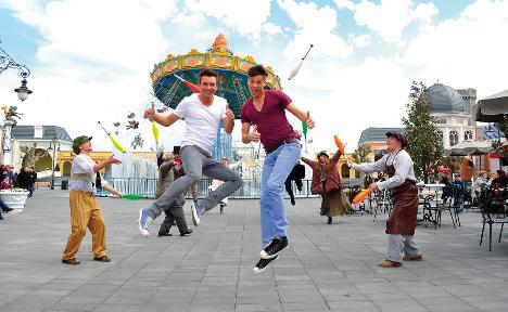 Burglars coast to €1m theme park haul