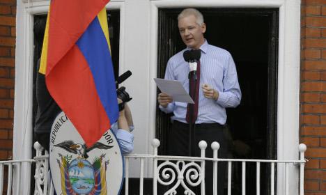 Sweden may quiz Julian Assange this month