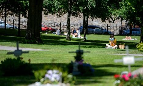 Sweden enjoys summer heatwave (finally)