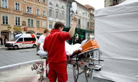 Three dead as car rams into crowd in Graz