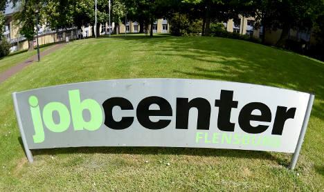 German unemployment hits historic low