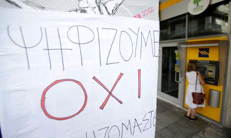 Swedish bank jitters as Greece crisis swells