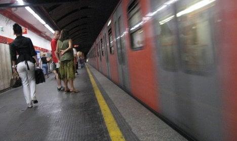 Panic as Rome metro runs with doors open
