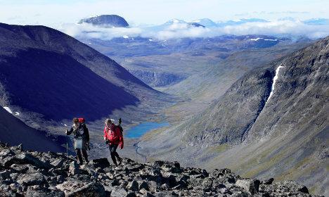 Sweden's highest peak set to get taller