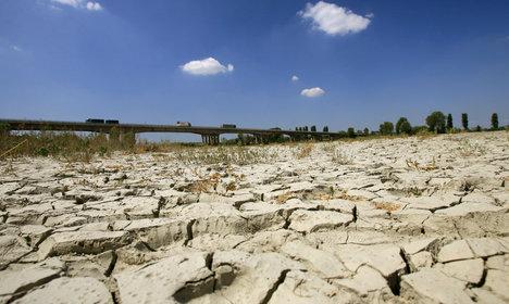 Livelihoods at risk as River Po runs dry