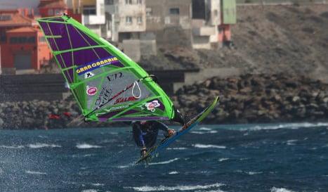 Diver killed in windsurfer collision on Gran Canaria