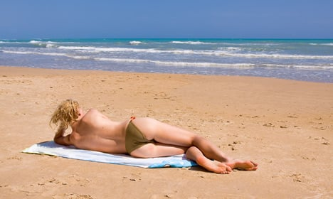 Fewer Danish women go topless at the beach