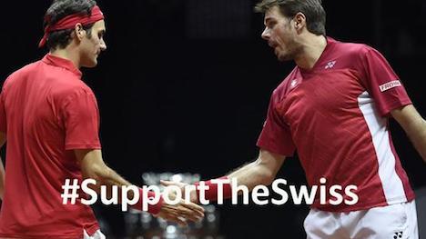 Federer and Wawrinka in Swiss Davis Cup return