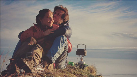 Norway couple spend year living outdoors