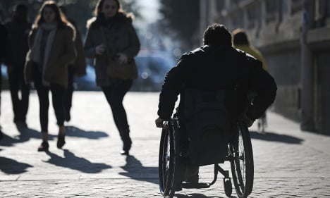 Anger as France delays wheelchair access laws