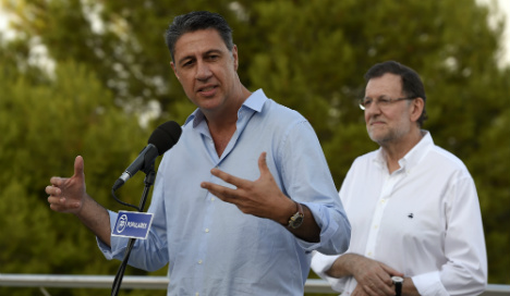 PM backs 'xenophobic' candidate in Catalan vote