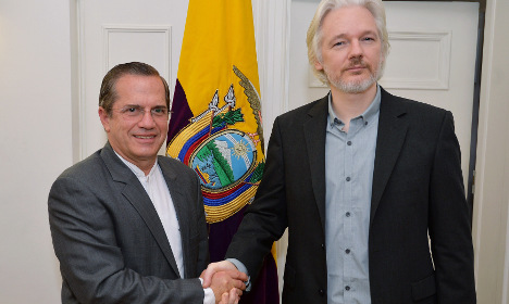 Sweden locks horns with Ecuador on Assange