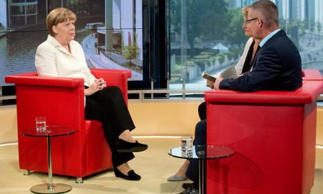 Merkel defends treatment of crying Palestinian girl