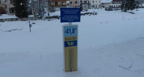 Swiss Siberia ends July with below-zero night