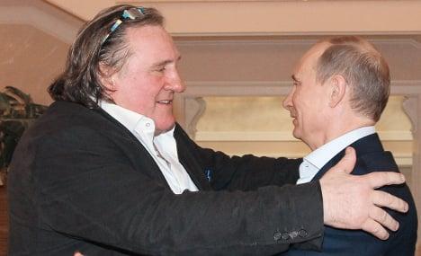 France's Depardieu ruled 'a danger to Ukraine'