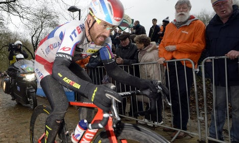Paolini tweets 'sorry' for cocaine shame