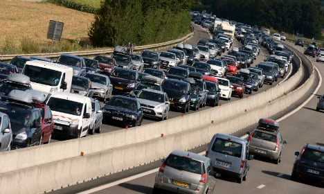 French roads set for 'Black Saturday' jams