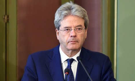 Gentiloni heads to Iran after nuclear power deal