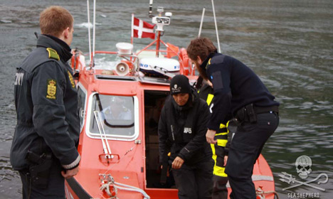 Anti-whaling activists arrested in Faroe Islands