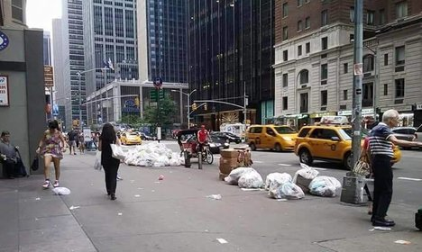'New York's waste issue is worse than Rome's'