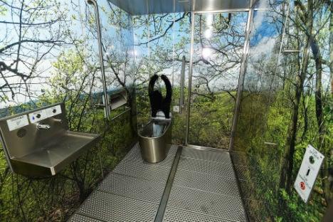 Vienna's public toilets get a fancy makeover
