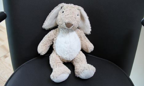 'Lost bunny' at Danish airport goes viral