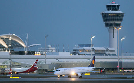 Newborn baby found in Munich airport toilets