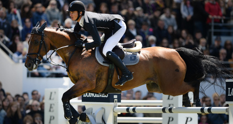 Swiss equestrians ride again after drugs appeal
