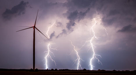 Storms set to hit Germany over weekend
