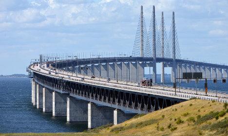 Record traffic boost for Sweden-Denmark bridge