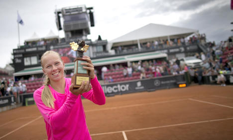 Swedes celebrate home win at Swedish Open