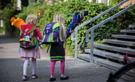 German kids enjoy 'back to school' traditions
