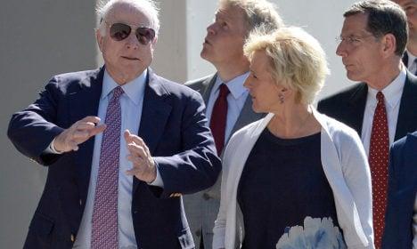 US senator warns of Putin on visit to Sweden