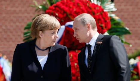 Germans, Russians trust each other less and less