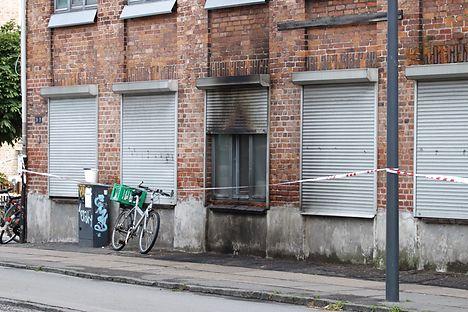 Dane arrested for praising arson attack