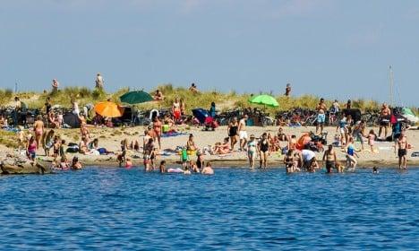 Danish summer weather finally returns