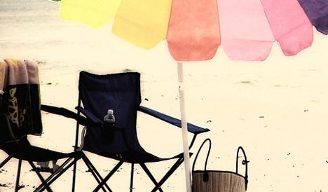 Spanish resort wages war on beach hoggers