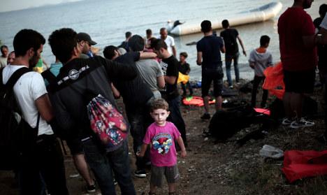 Italian tourists help save migrants in Kos